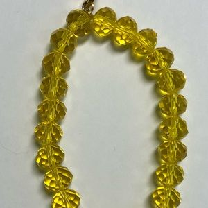 Beautiful yellow Ermish bracelet